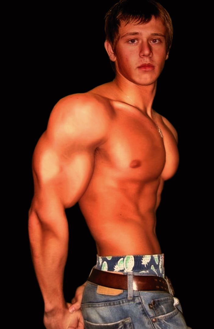 Teen Muscel Naked 24